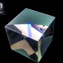 Caja de acrilico Espejo