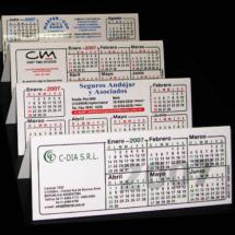Calendarios de acrilico