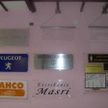 Carteles impresos a medidas segun pedido
