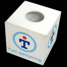 Cubos en alto impacto impresos