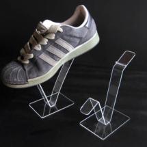 Exhibidor de acrilico para zapatillas