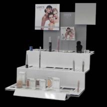Exhibidor de maquillajes