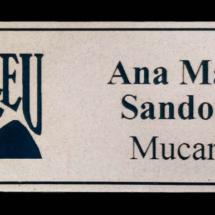 Identificador grabado en bicapa FUNDALEU