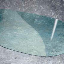 Parabrisas en acrilico cristal con filtro UV