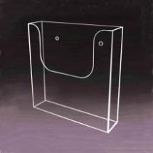 Portafolleto de acrilico para pared