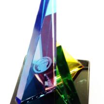 Premio de acrilico impreso full color y grabado