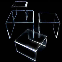 Termodoblados de acrilico cristal